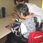 Sesión individual de terapia ocupacional