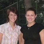 Las hermanas Ana y Olga Zorina