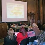 """Esta ponencia se presentó en el marco de la """"I Jornada de intervenciones sociales en emergencias e incidentes críticos"""" celebrada en septiembre de 2011 en Buenos Aires. Foto: Victoria Aresca."""