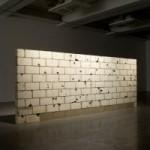'Muro baleado', de Teresa Margolles