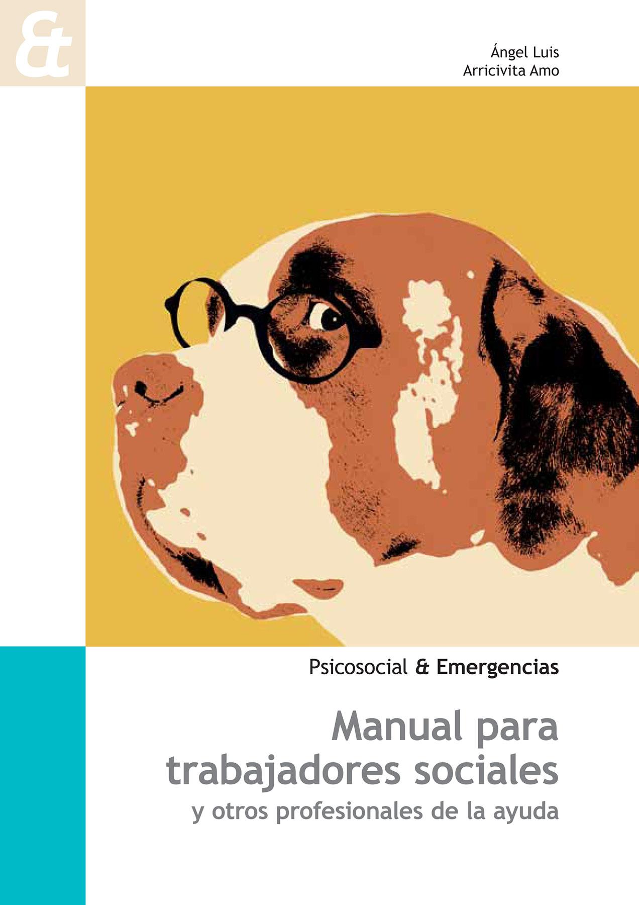 """Portada del libro """"Manual para trabajadores sociales y otros profesionales de la ayuda"""""""