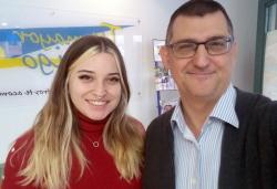 Luis Meseguer y Malena Pradas
